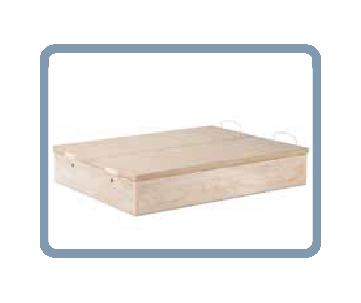 iconos matalassos_Canapé madera puerta abatible zapatero 900-124